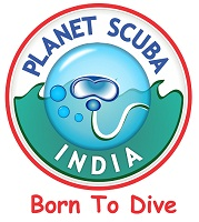 Planet Scuba India Logo