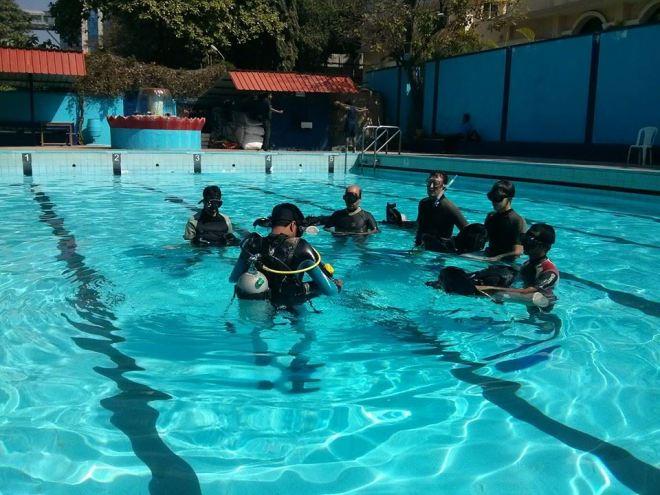 Pool training- Dec 7, 2014